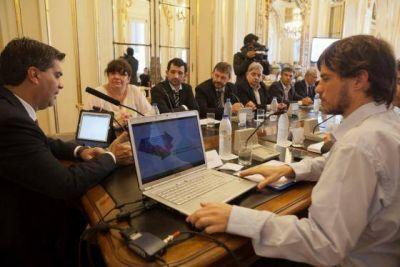 Capitanich se reunió con ministros provinciales