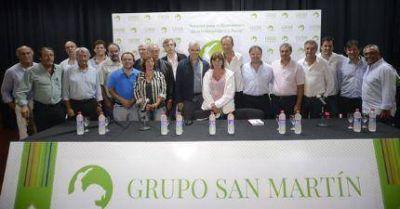 Julián Dominguez en Mar del Plata: cita a Néstor y defiende a Cristina