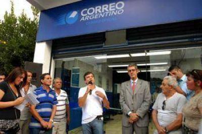 Inauguraron sede del Correo Argentino en Willliam Morris