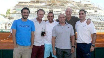 Copa Davis: Este domingo llegan los tenistas argentinos