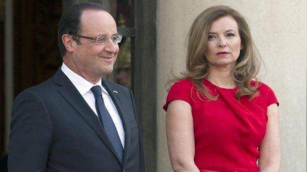 El presidente de Francia se separa tras el escándalo con una amante