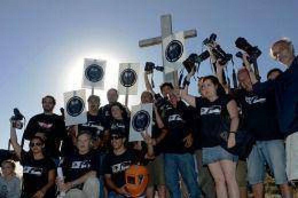 Familiares y colegas realizaron un homenaje a Cabezas en Pinamar