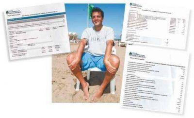 Las vacaciones lujosas de Massa en Pinamar y las cuentas que no cierran