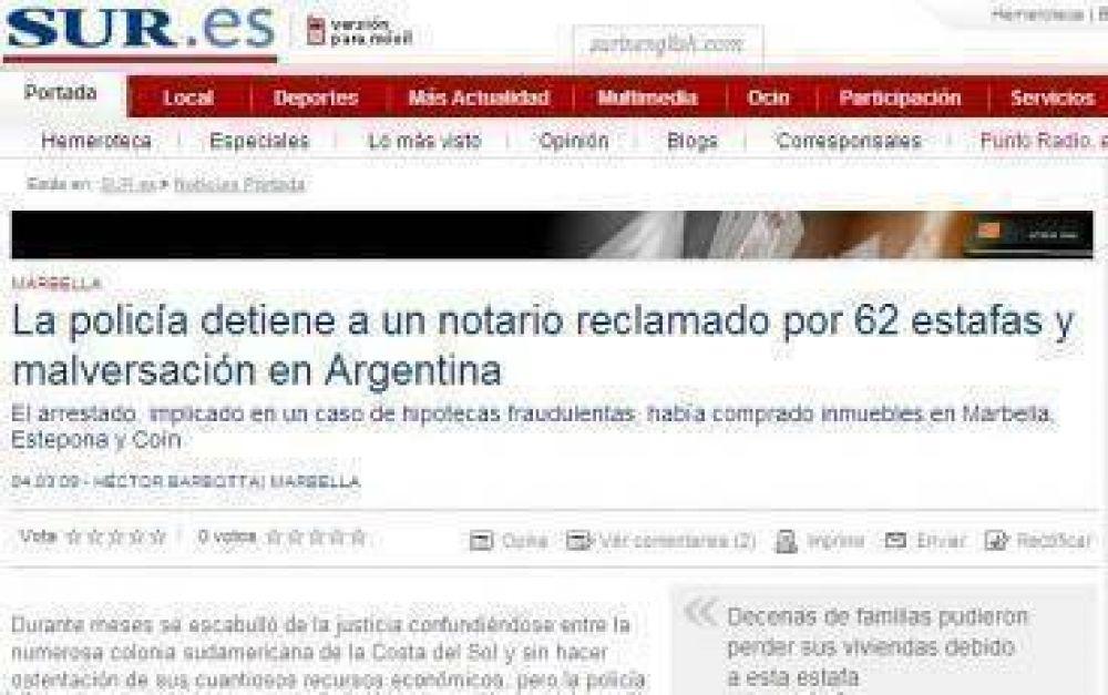 Justicia rionegrina no culminó trámites de extradición y el escribano Echeverría quedó libre