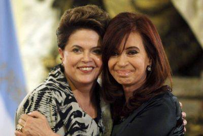 """Cristina y Rousseff coincidieron: """"Existen movimientos especulativos sobre países emergentes"""""""