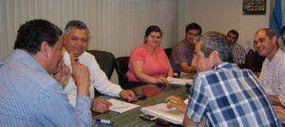 Quintana acord� l�neas de trabajo con diferentes �reas del gabinete Productivo Nacional