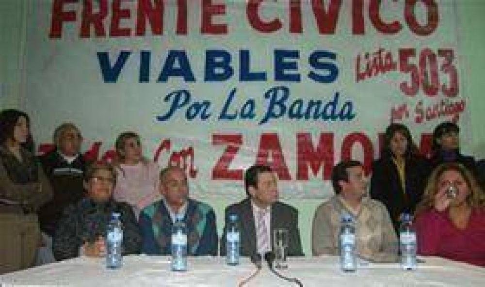 Dirigentes viables se suman al Frente Cívico