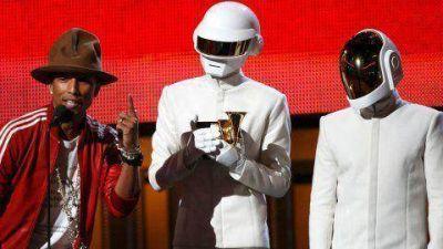 Premios Grammy: Daft Punk, grandes ganadores de la noche