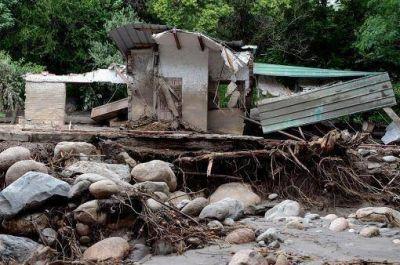 Confirman que son 7 las personas desaparecidas tras el alud en Catamarca