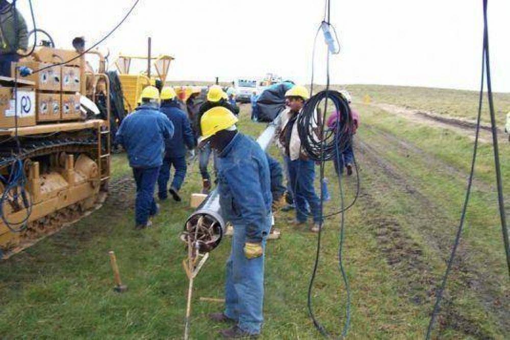 Confirman la finalización de la ampliación del gasoducto para la provisión de éste y el próximo invierno