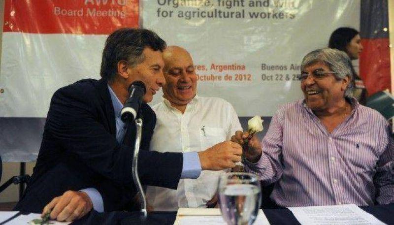 """Macri y Moyano conversarán sobre """"el impacto de la inflación"""""""