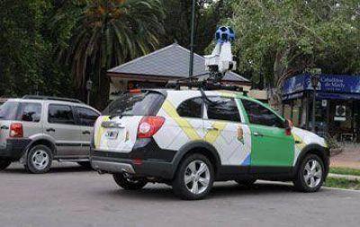 Google recolecta imágenes en Río Gallegos y El Calafate