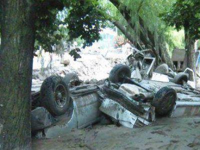 Alud en Catamarca: sigue el trabajo de Bomberos Voluntarios de Paraná en tareas de rescate