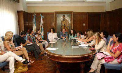 """Asociaciones Civiles se reunieron con Bassin y sumaron propuestas al """"Pacto por la niñez"""""""