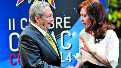 Cristina pidi� que la CELAC condene a los �movimientos especulativos�