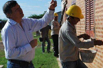 Avanza la obra de viviendas para trabajadores del Nuevo Banco del Chaco