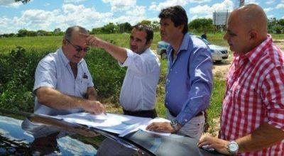 Bacileff Ivanoff anunció la construcción de la sede legislativa