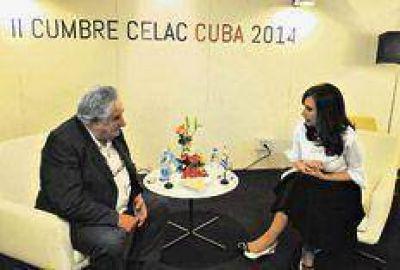 La mesa servida con Uruguay