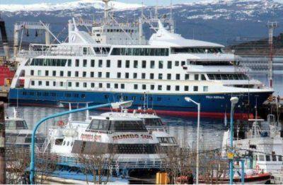 Exitosa temporada de cruceros en Uhsuaia