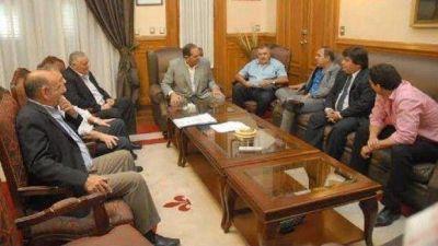 Pacto Obras: Firmaron cuatro municipios