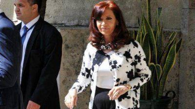Cristina Kirchner presenta una bursitis del trocánter izquierdo