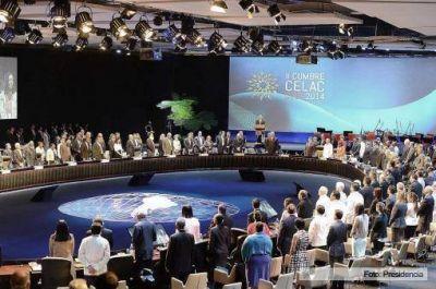 La Celac ratificó la voluntad de fortalecer el espacio regional y respaldó el reclamo argentino por Malvinas