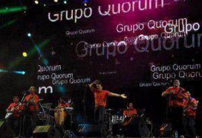 El público de Cosquín cantó y bailó con la actuación de Quórum