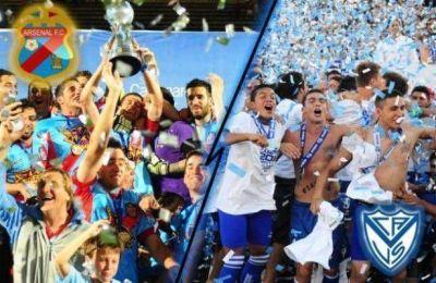 Cambio de horario: Vélez y Arsenal jugarán el viernes a las 21:10