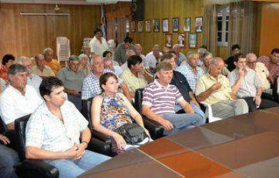 El ministro de la Producción escuchó los reclamos de las cooperativas pero no hubo respuesta