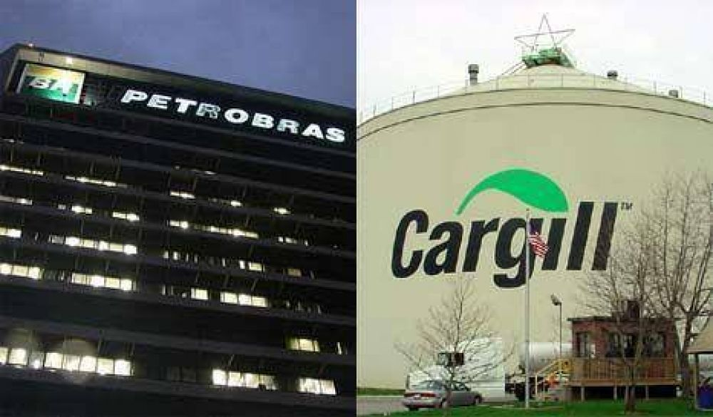 Embargo millonario a Petrobrás y Cargill por evasión