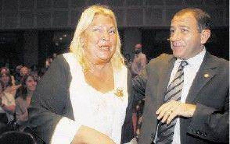 Carrió, en Córdoba y Santa Fe en apoyo de sus candidatos