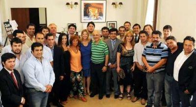 Ediles de Azul en una reunión con la Ministra de Gobierno bonaerense