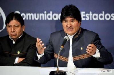 """Evo Morales propuso espiar a EEUU para lograr """"seguridad mundial"""""""