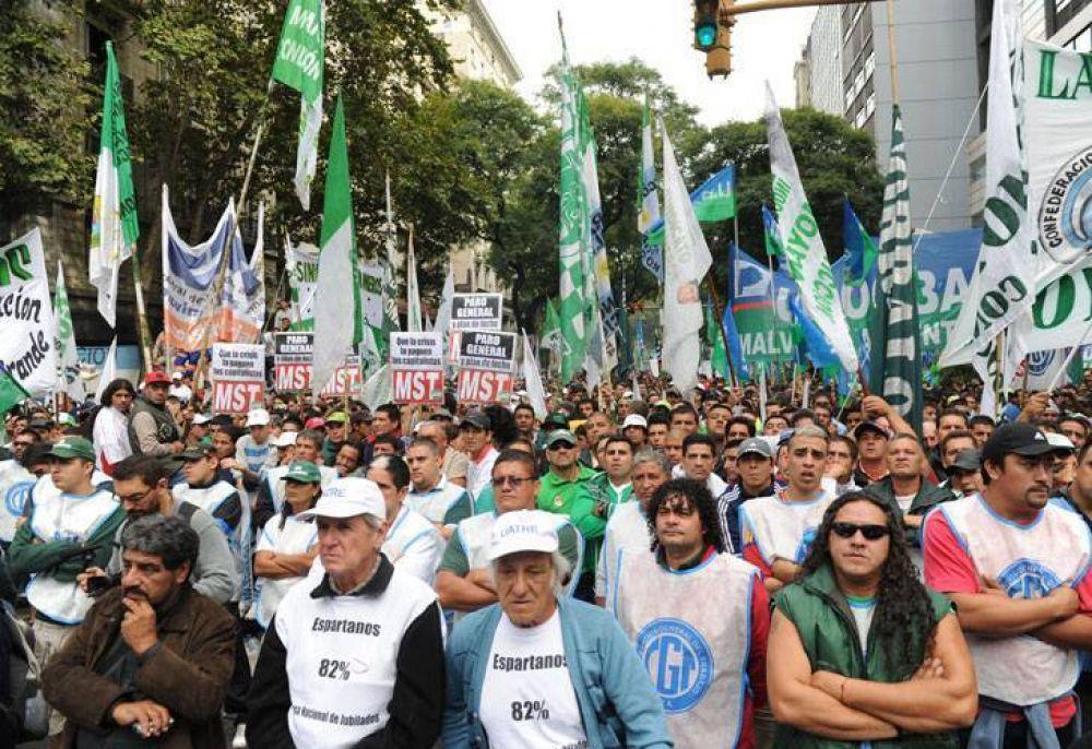 Las paritarias, la próxima batalla de los principales sindicatos