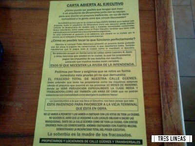 Modificaciones en Güemes: propietarios sostienen que quieren beneficiar las obras de Aldrey en la exterminal