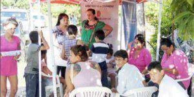 Continúa desarrollándose operativo sanitario social-integral, esta vez en Villa Hermosa