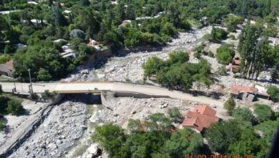 El Gobierno analiza la zona de desastre