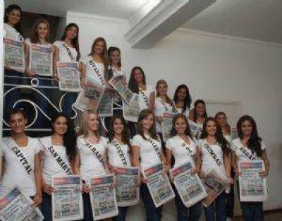 Las candidatas a Reina Nacional del Sol, entre charla por el Túnel y la casa SAHNI