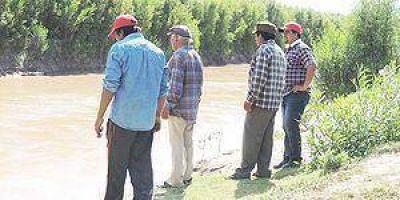 Refuerzan defensas del río Pilcomayo