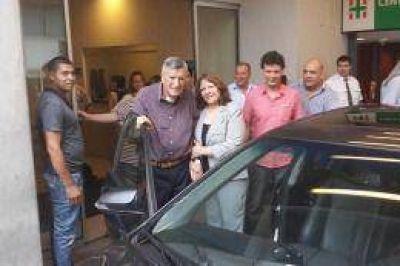 El vicegobernador de San Juan adelant� que Gioja regresar� durante esta semana a la provincia