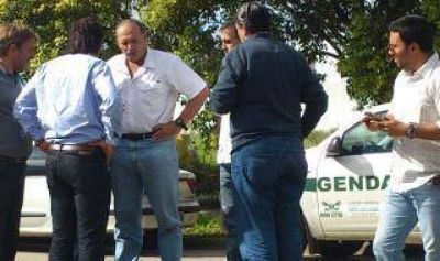 Temporal: Berni visita las zonas afectadas en San Pedro, San Nicolás y Ramallo