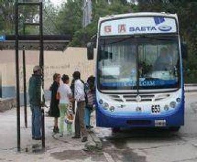 La AMT descartó que SAETA haya pedido aumentar la tarifa de transporte