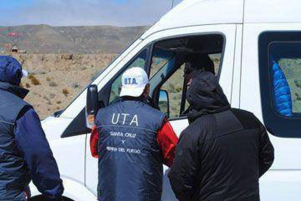 UTA advirtió que seguirá el reclamo en El Calafate