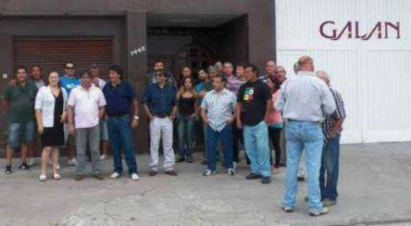 Luego del en�rgico reclamo reintegraron el trabajador despedido en la empresa �Vinos Gal�n�