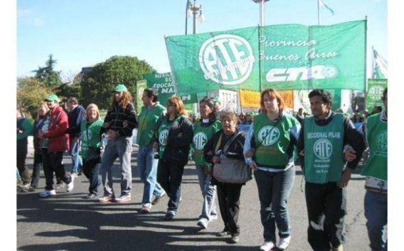 """ATE Pilar reclama """"como piso"""" un 25% de aumento salarial para los municipales"""