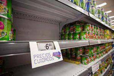 La militancia K se sumó al control de precios en la cuidad