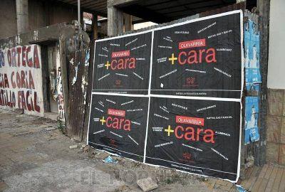 Campaña gráfica del PJ contra el Frente Renovador
