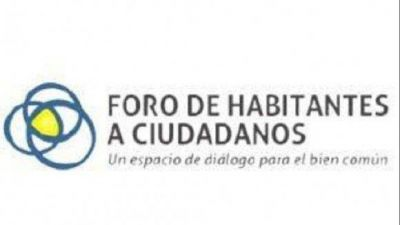 Conforman el Capítulo Tucumán del Foro de Habitantes a Ciudadanos