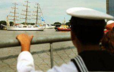 La Fragata Libertad llegaría en septiembre a Puerto Madryn