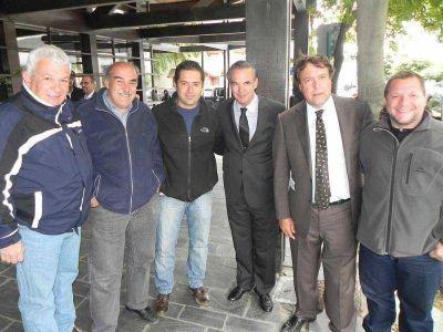 Gremios de Bariloche mantuvieron una positiva reunión con Pichetto y Weretilneck